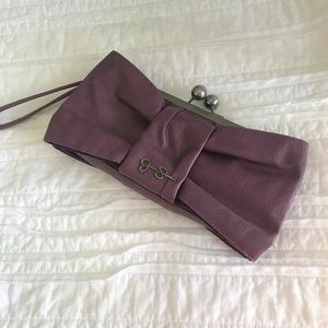 Jessica Simpson Bow Clutch